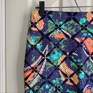 LuLaRoe • Cassie • Quilted Pattern Skirt • Small